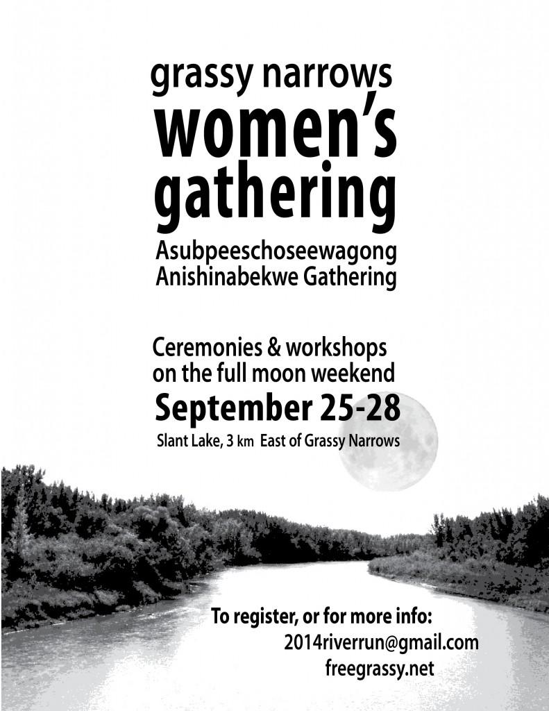 women's gathering poster